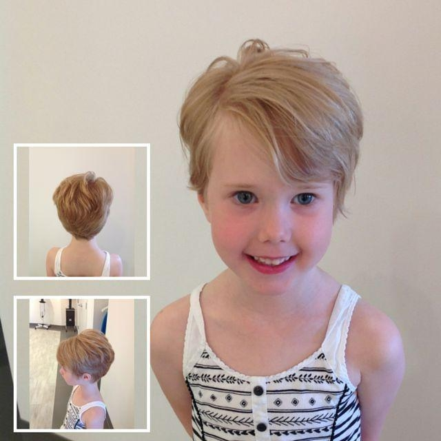 Kids Short Hair For Newest Baby Girl Pixie Haircuts (Gallery 2 of 20)