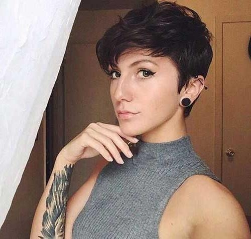 Latest Hipster Pixie Haircuts Regarding 44 Best Pixie Haircuts Images On Pinterest (View 13 of 20)