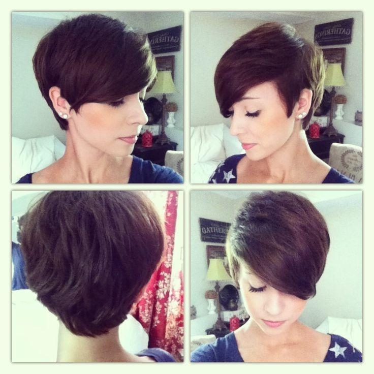 Latest Long To Short Pixie Haircuts Within 230 Best Hairstyles Images On Pinterest (View 15 of 20)