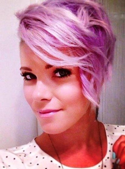 Latest Pink Short Pixie Haircuts With Regard To 20 Short Pixie Haircuts Femininity And Practicality (View 6 of 20)