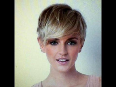 Latest Pixie Haircuts With Long Fringe Regarding Pixie Haircut With Long Bangs Photos   Fashion Tips – Youtube (View 12 of 20)