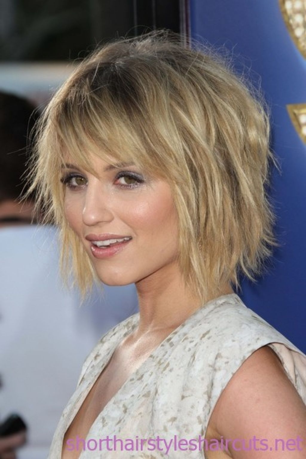 Latest Shaggy Bob Hairstyles With Fringe With Short Choppy Layered Hairstyles For Fine Hair – 2015 Hairstyles (View 7 of 15)