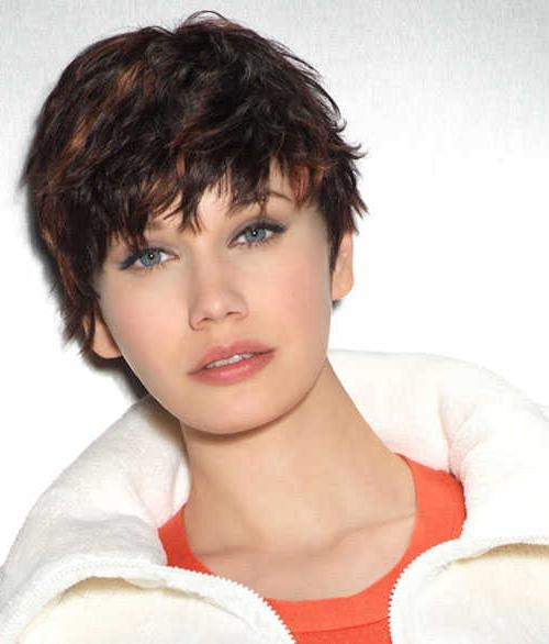Latest Short Choppy Pixie Haircuts Intended For Cute Short Choppy Pixie Haircuts – New Hairstyles, Haircuts & Hair (View 9 of 20)