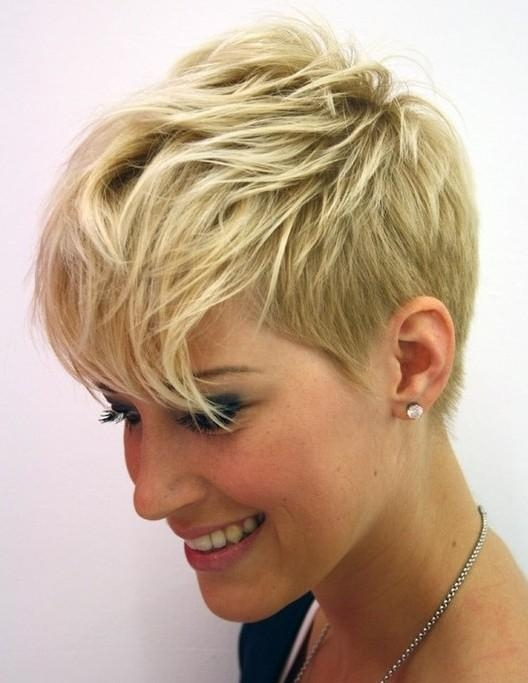 Latest Short Pixie Haircuts For Thin Hair With 15+ Chic Short Hairstyles For Thin Hair You Should Not Miss (View 4 of 20)