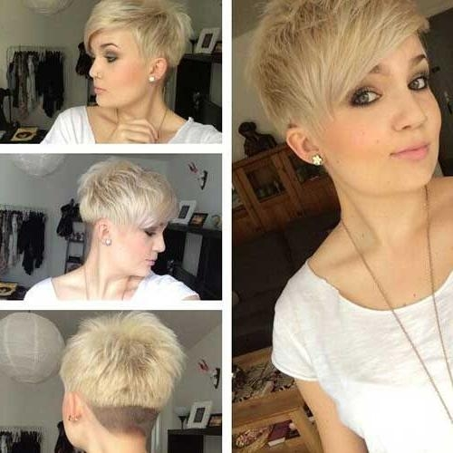 Latest Undercut Pixie Haircuts Regarding Short Layered Pixie Haircut With Undercut Pictures, Photos, And (View 11 of 20)