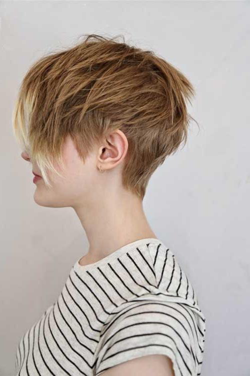 Latest Very Short Textured Pixie Haircuts With 25 Short Layered Pixie Haircuts (View 4 of 20)