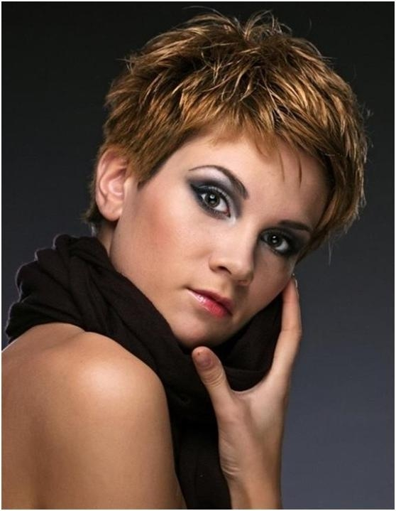 Layered Pixie Cut Easy Short Hairdos (View 11 of 20)