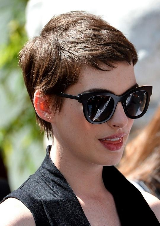 Layered Short Pixie Cut For Thick Hair – Hairstyles Weekly Inside Popular Pixie Haircuts For Women With Thick Hair (View 12 of 20)