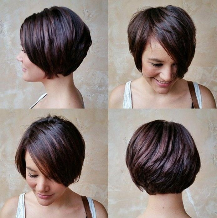 Long Pixie, Medium Thick Hair In Most Up To Date Bob Pixie Haircuts (View 7 of 20)