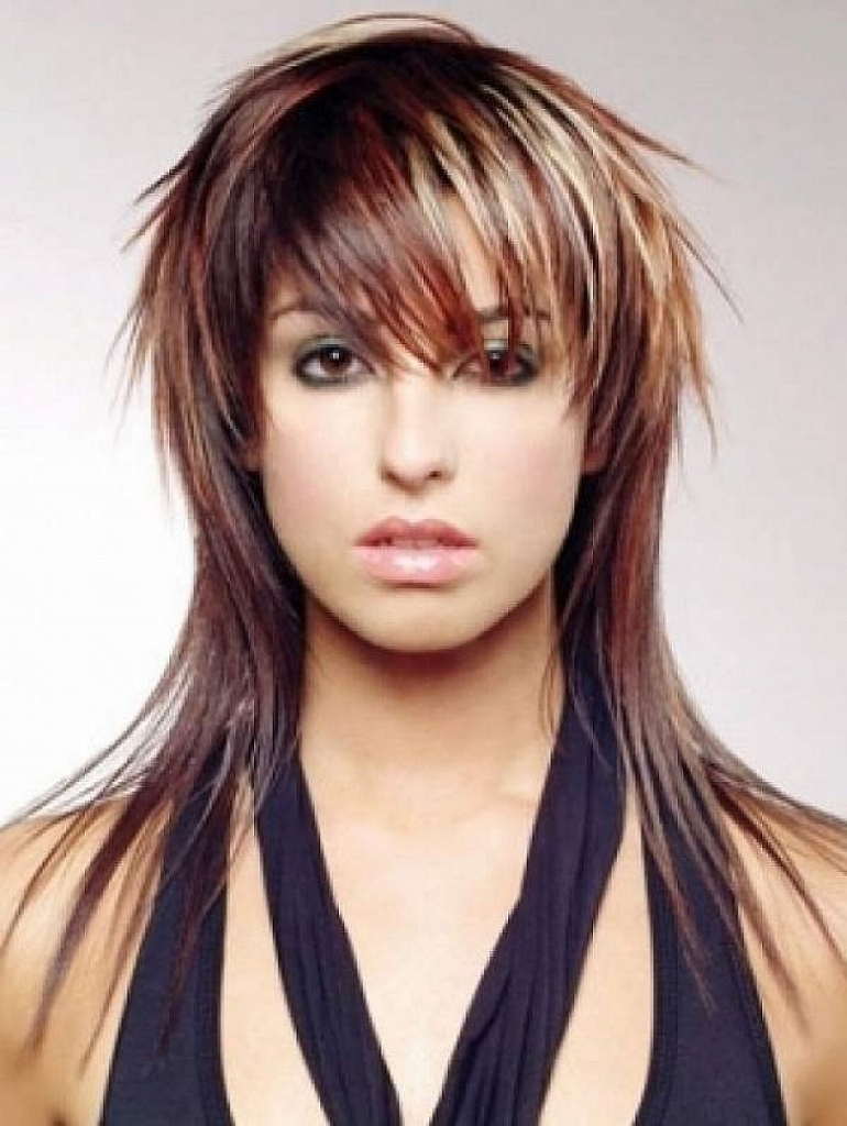 15 Best Collection of Shaggy Hairstyles for Straight Hair
