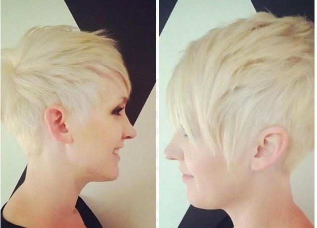 Match Your Punky Personality With A Platinum Punk Pixie With Regard To Famous Clippered Pixie Haircuts (View 12 of 20)