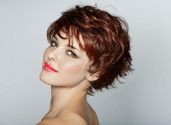 Medium Hair Styles Pertaining To Well Known Pixie Haircuts For Thick Curly Hair (View 10 of 20)