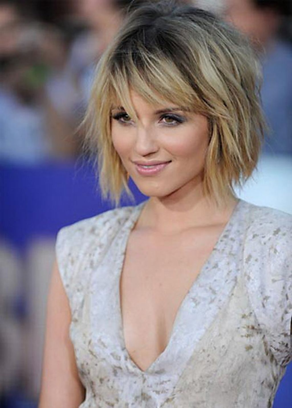 Medium Length Within Widely Used Shaggy Bob Hairstyles For Thick Hair (View 15 of 15)