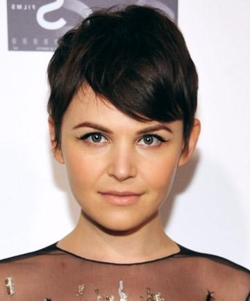 Michelle Williams' Red Carpet Worthy Pixie Cut, 19 Gorgeous Pixie Regarding Well Known Short Pixie Haircuts For Oval Faces (View 14 of 20)
