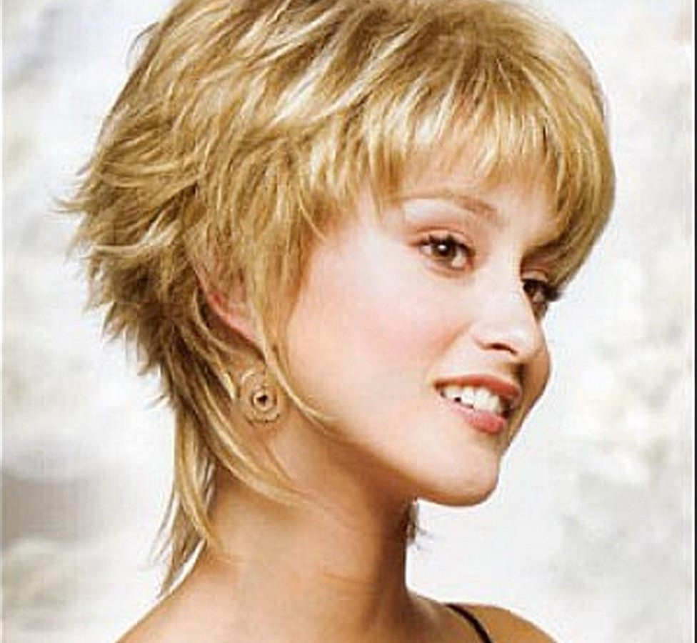 Mid Length Hairstyles Ideas Fors Choppy Shag Best For Women Stock For Most Popular Shaggy Choppy Hairstyles (View 4 of 15)