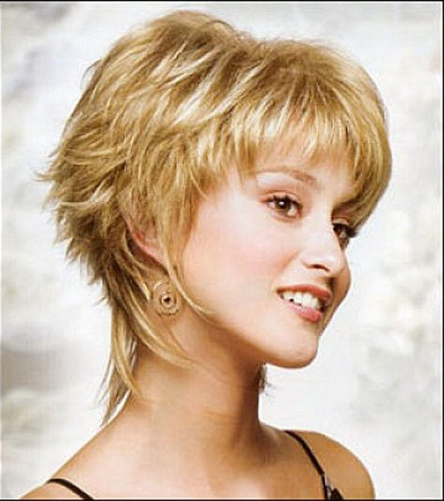 2018 Popular Short Shaggy Choppy Hairstyles