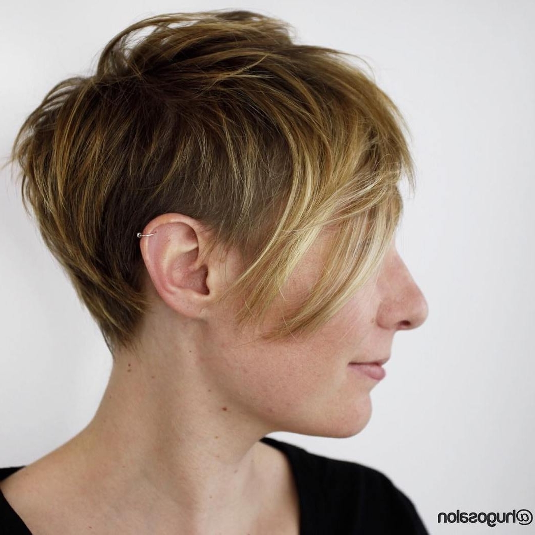 Model Hairstyles For Short Shaggy Hairstyles For Fine Hair Shag Intended For Best And Newest Very Short Shaggy Hairstyles (View 9 of 15)
