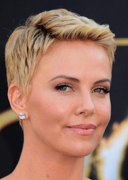Modern Pixie Haircut For Short Hair In For Well Known Modern Pixie Haircuts (View 8 of 20)