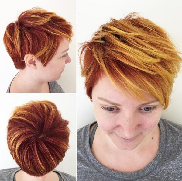 Modern Short Pixie Haircuts  (View 9 of 20)