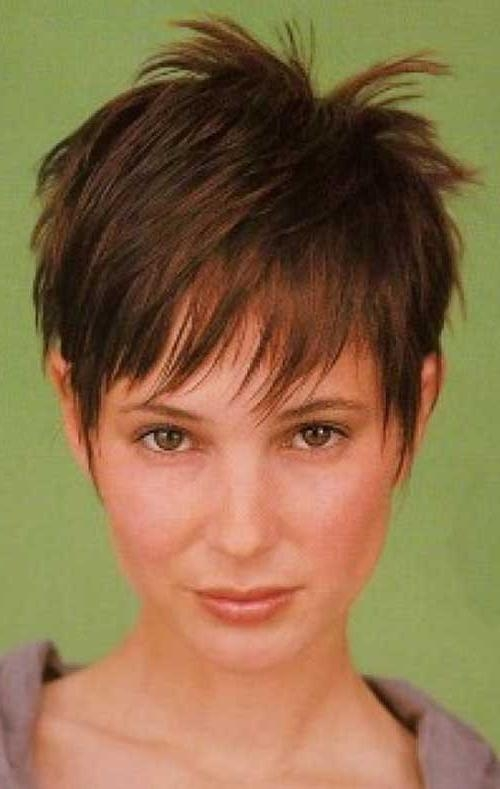 Featured Photo of Pixie Haircuts For Thin Hair