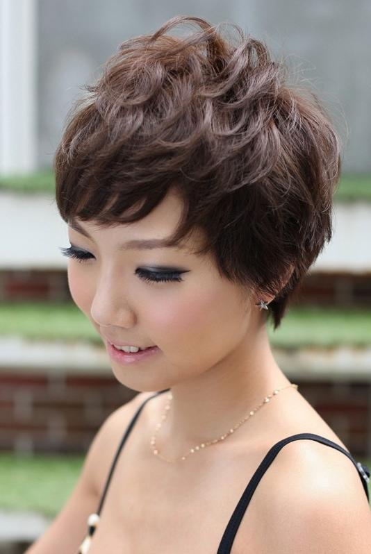 Most Current Japanese Pixie Haircuts Inside Pretty Pin Curl Pixie Cut – Hairstyles Weekly (View 8 of 20)