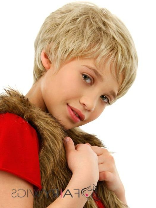 [%Most Current Kids Pixie Haircuts Throughout Lastest Trend Short Blonde 100% Indian Remy Hair Kids Wigs 6 Inch|Lastest Trend Short Blonde 100% Indian Remy Hair Kids Wigs 6 Inch With Regard To Trendy Kids Pixie Haircuts%] (View 1 of 20)