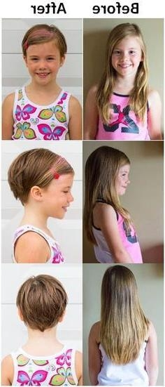 Photo Gallery Of Little Girls Pixie Haircuts Viewing 19 Of 20 Photos