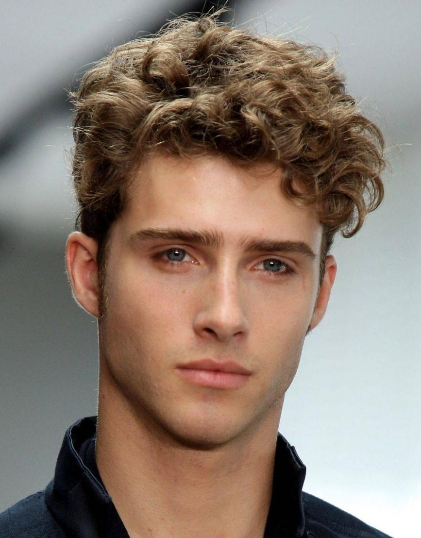 Most Current Men's Shaggy Hairstyles Inside Curly Hairstyles For Men 2017 – Registaz (View 12 of 15)