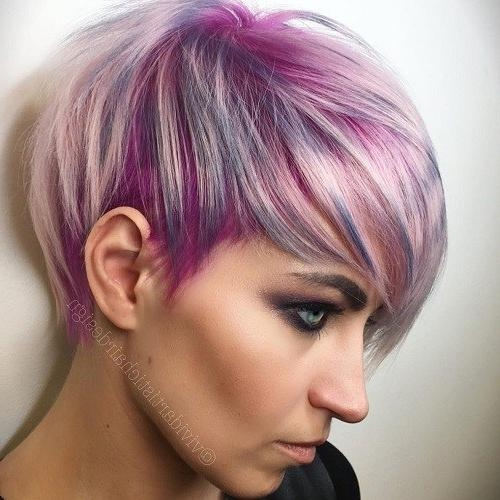 Most Current Pink Short Pixie Haircuts Inside 25 Best Hair Color Ideas For Short Pixie Haircuts 2018 – Best Hair (View 7 of 20)