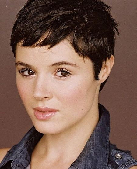 Most Current Pixie Haircuts For Thick Curly Hair Regarding 20 Pixie Haircuts For Thick Hair (View 12 of 20)