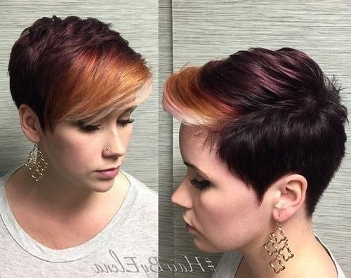 Photo Gallery Of Pixie Haircuts With Highlights Viewing 11 Of 20