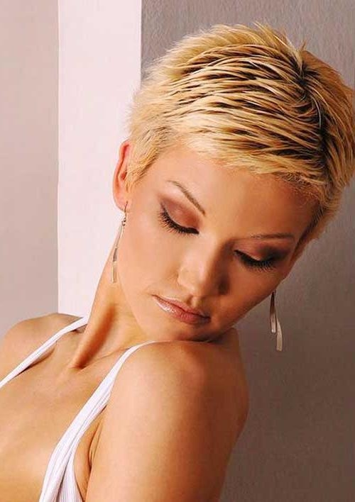 Most In Well Known Spiky Pixie Haircuts (View 8 of 20)