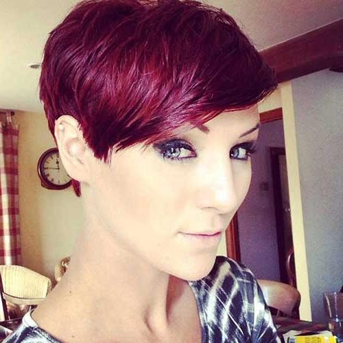 Most Inside Preferred Short Red Pixie Haircuts (View 4 of 20)