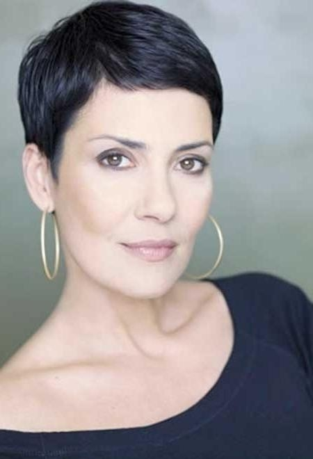 Most Inside Trendy Very Short Pixie Haircuts For Women (View 12 of 20)