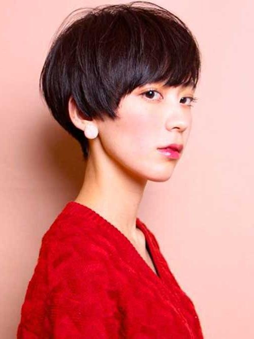 Most Lovely Asian Pixie Cut Pics (View 10 of 20)