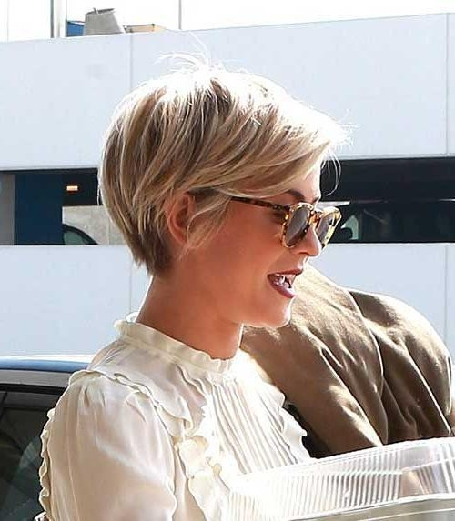 Most Popular Blonde Pixie Haircuts Intended For The 25+ Best Blonde Pixie Cuts Ideas On Pinterest (View 14 of 20)