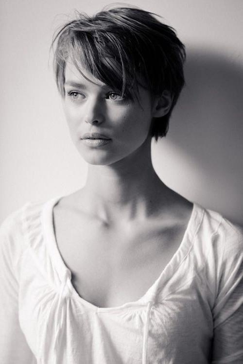 Most Popular Fringe Pixie Haircuts Inside Best 25+ Pixie Cut Bangs Ideas On Pinterest (View 10 of 20)