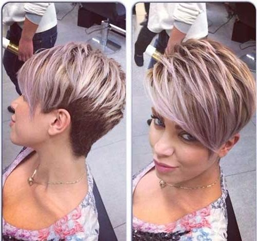 Most Popular Intended For Fashionable Short Edgy Pixie Haircuts (View 7 of 20)
