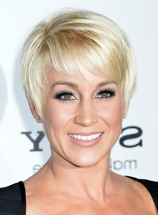 Most Popular Kellie Pickler Pixie Haircuts Throughout Kellie Pickler Short Pixie Hairstyles 2014 – Short Straight Pixie (View 14 of 20)