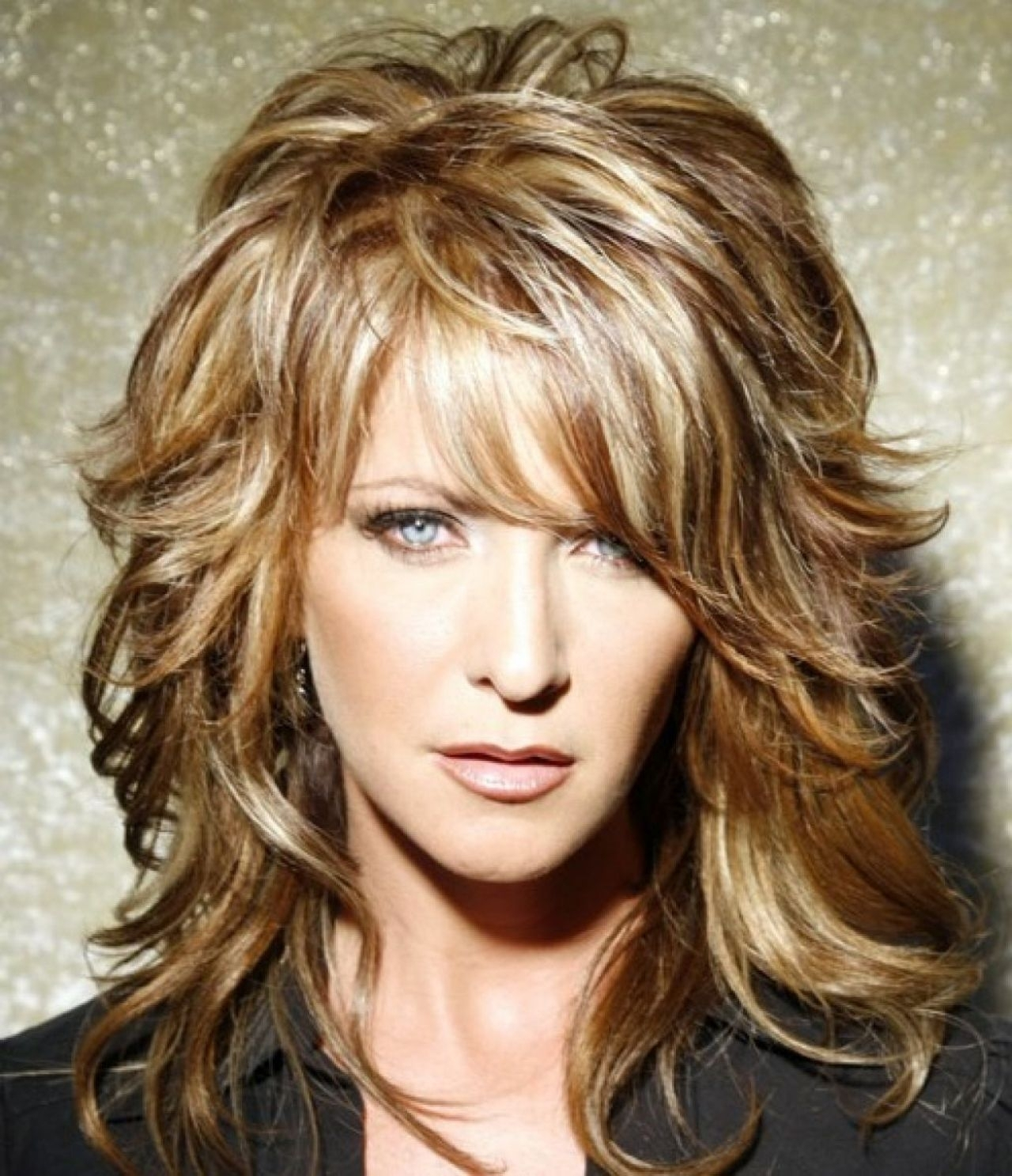 shoulder length shaggy haircuts 15 best collection of medium shaggy bob hairstyles 5677