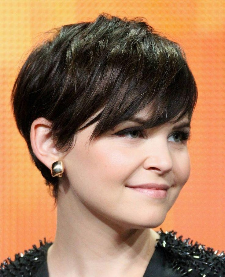 Most Popular Pixie Haircuts For Round Face Shape Inside 21 Lovely Pixie Haircuts Perfect For Round Faces: Short Hair (View 6 of 20)