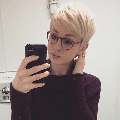 Most Popular Pixie Haircuts With Glasses Within 20 Best Short Hair Images On Pinterest (View 10 of 20)