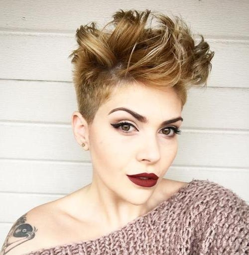 Most Popular Pixie Haircuts With Long On Top Intended For 45 Gorgeous Long Pixie Hairstyles – Page 8 – Foliver Blog (View 11 of 20)