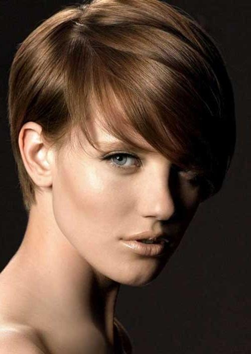 Most Popular Regarding Most Current Brown Pixie Haircuts (View 10 of 20)
