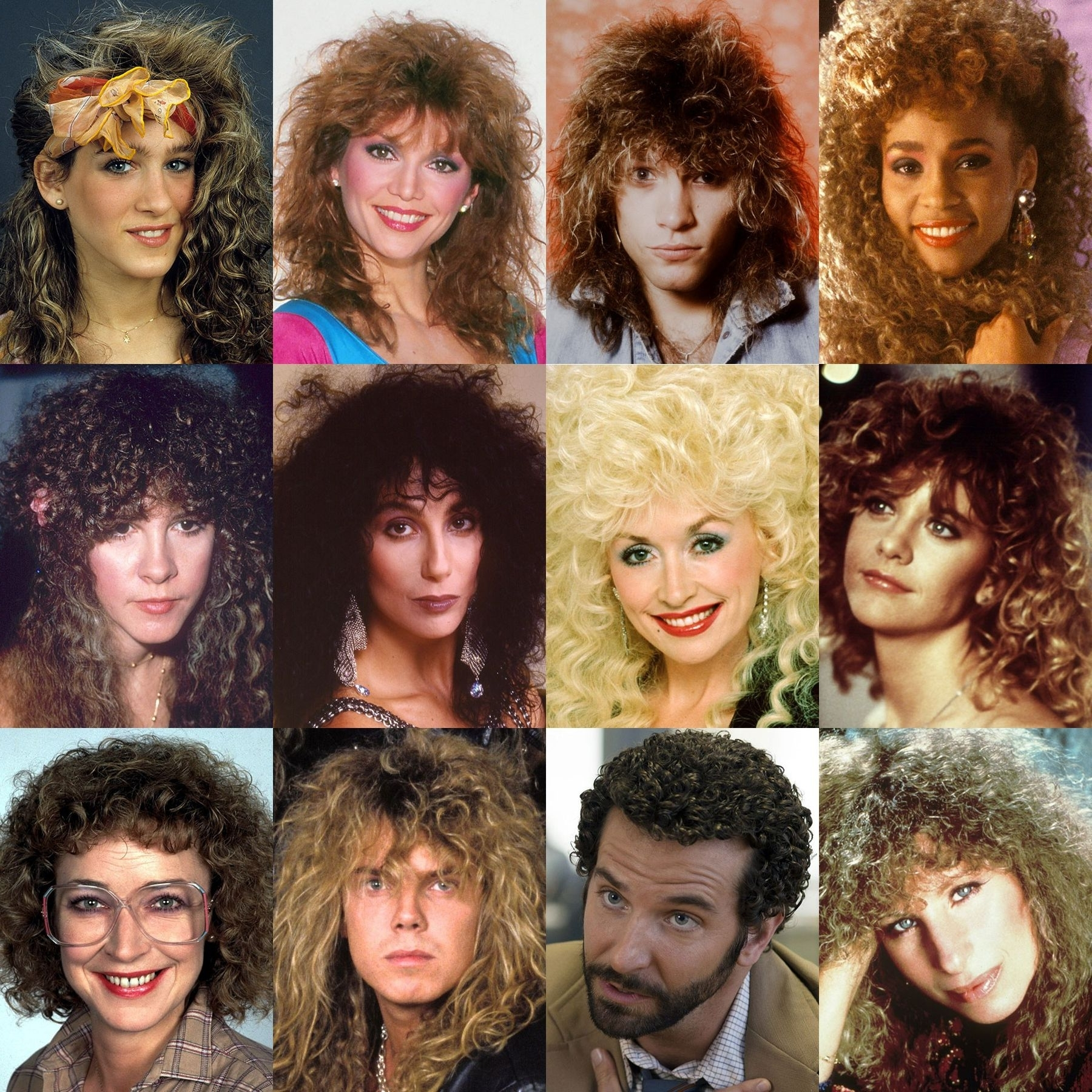 Most Popular Shaggy Perm Hairstyles In Iconic Perms, Famous 80S Perms (View 7 of 15)