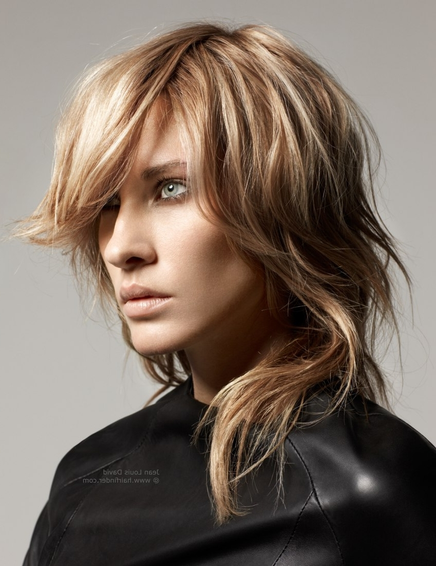 Most Popular Shaggy Rocker Hairstyles Within Long Shaggy Haircut With Cutting For A Choppy Tendril Like Look (View 4 of 15)