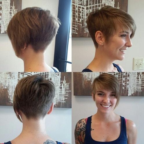Most Popular Short Asymmetrical Pixie Haircuts Regarding Top 18 Short Hairstyle Ideas – Popular Haircuts (View 13 of 20)
