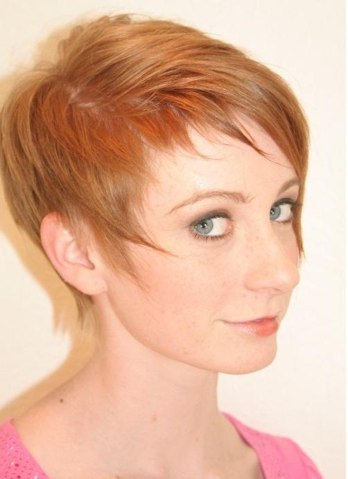 Most Popular Styling Pixie Haircuts In Pixie Haircut For Fine Hair: Cute Hairstyles – Popular Haircuts (View 6 of 20)