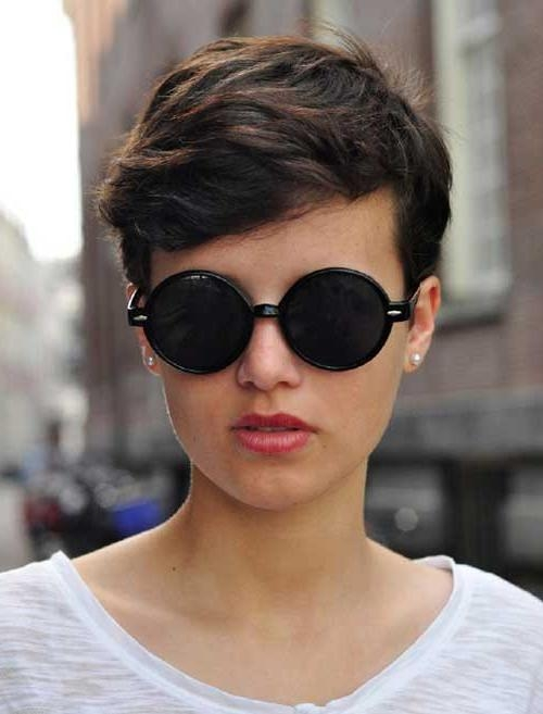 Most Recent Brunette Pixie Haircuts With Regard To Most Beloved 20+ Pixie Haircuts (View 9 of 20)