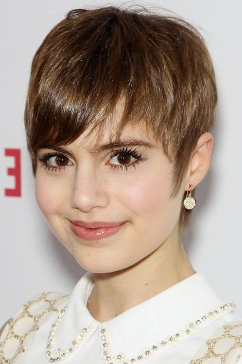 Most Recent Fringe Pixie Haircuts For 20 Chic Short Pixie Haircut Ideas For 2018 – Pretty Designs (View 12 of 20)